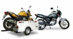 Carretinha para moto modelo Full SOS