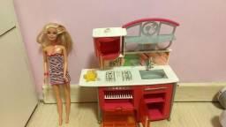 Cozinha Da Barbie + 1 Barbie