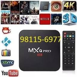 Box Tv Mxq/Mx9 4K