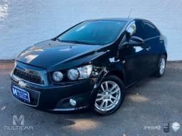 Chevrolet SONIC 1.6 LTZ SEDAN 16V FLEX 4P AUTOMÁTICO - Preto - 2014 - 2014