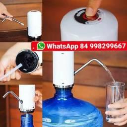Bebedouro Elétrico De Água Digital Recarregável Usb