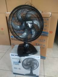 Ventilador de Mesa Ultra-Silencioso Max Mondial (Na Caixa com Garantia e Frete Gratis)