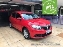 Renault Sandero 1.6 Expression Flex Oportunidade Valor de Ocasião! Ipva Pago