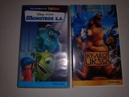 Fitas VHS -Irmão Urso/Lilo Stitch/ Dumbo