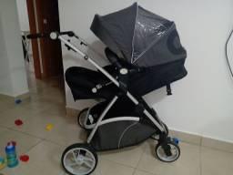 Carrinho de bebê com travel system Dzieco Mally (conjunto) - Black Friday