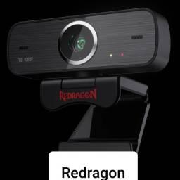 Webcam Hitman Redragon GW800 / 1080P - Preto<br><br>