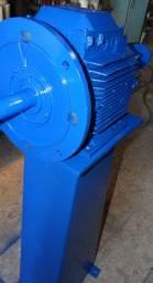 Politriz de bancada motor 15 CV, trifásico, 1750 rpm