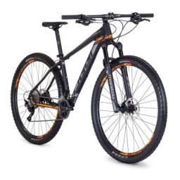 Bike Oggi Big Wheel 7.4 2018 Shimano SLX 22V - Preto/ Laranja 17