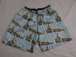 Shorts Moda Praia Masculino Estampado