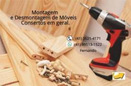 Montagem e Desmontagem de Móveis