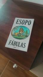Livro Fábulas de Esopo