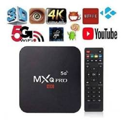 TV BOX 4K 5G 32GB...Transforme sua TV em smart...