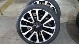 Roda e Pneu 265 40R22