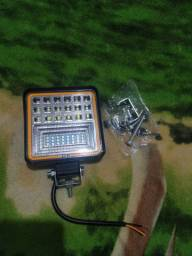 Kit 2 Farol De Milha Led Universal 126w