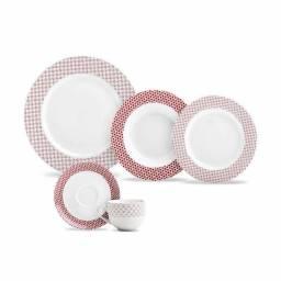 Aparelho De Jantar Porcelana Yuki 20 Pec?as