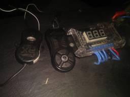Medidor de bateria e Controle jfa