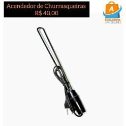 Acendedor Elétrico Para Churrasqueira e Lareiras  + Entrega Grátis