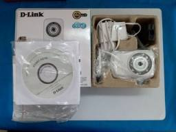 Câmera de Segurança Ip D-link Dcs 932l Wi-fi Áudio Visão Noturna - Nova na Caixa