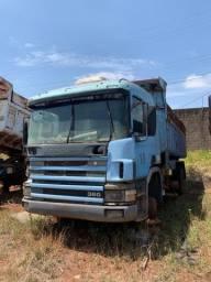 Scania P124 360cv 6x4 traçado caçamba basculante