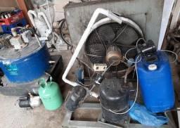 Maquina de gelo escama