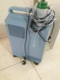 Concentrador de oxigênio mais cilindro