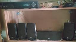 Home Theater LG 850W- Usado