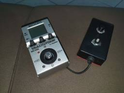 Pedal Multistomp Zoom MS-50G