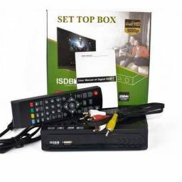 Conversor TV Digital Full HD 1080p Set top box Gravador