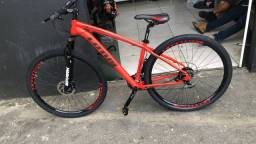 Bicicleta Lótus toda em shimano 12x cartão