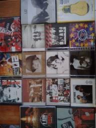 U2 lote de cds e DVDs