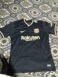 3° Camisa do Barcelona 20/21 70$ PRA VENDER LOGO