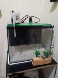 Vendo aquário completo. Valor R$:160,00