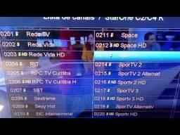 Receptor tv satélite Duoosat Blade Black séries