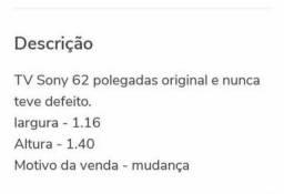 """TV Sony 62"""""""