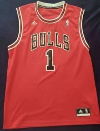 Camisa NBA Adidas Chicago Bulls - Derrick Rose G