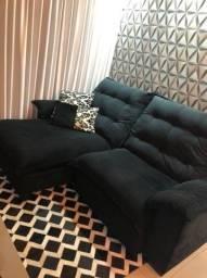 Sofá,tapete mais almofadas novos
