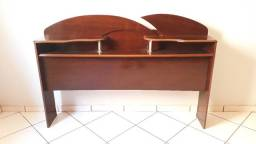 Cabeceira cama casal madeira