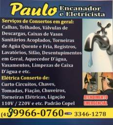 Eletricista e Encanador Curitiba
