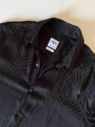 Camisa Animal Print Zebra Zara