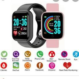 Relógio Smartwatch Inteligente D20 Android e IOS<br><br><br>