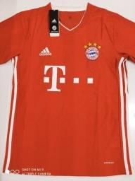 Camisa Bayern de Munique Home Adidas 20/21 - Tamanhos: P, M, G, GG