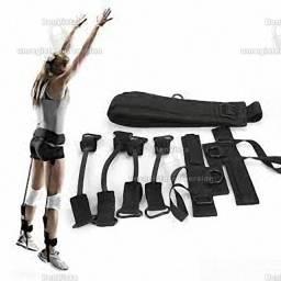Bandas de resistência para treino de salto em altura vertical
