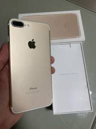 iPhone 7 PLUS 128GB GOLD / OTIMO ESTADO