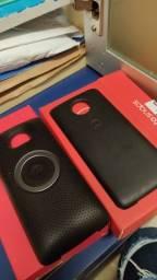 Caixa de som e bateria Motorola Z