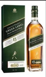 Green Label 15 anos fechado na caixa