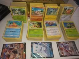 Lote de 100 cartas pokémon tcg