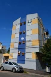 Apartamento 02 dormitório para venda em Santa Maria próx da UFN com sacada e garagem no ed