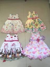 Vestidinhos de meninas 2 anos