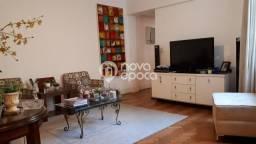 Apartamento à venda com 3 dormitórios em Laranjeiras, Rio de janeiro cod:CP3AP32874