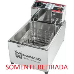 Fritadeira elétrica profissional 5L Inovamaq 220V